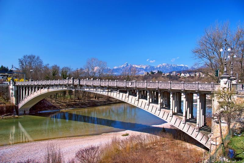 Belluno ponte della vittoria