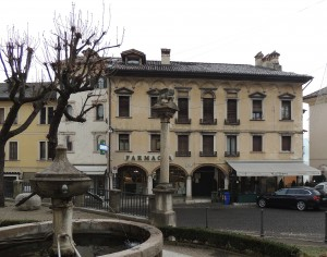 Palazzo Barpo in Piazza Santo Stefano a Belluno