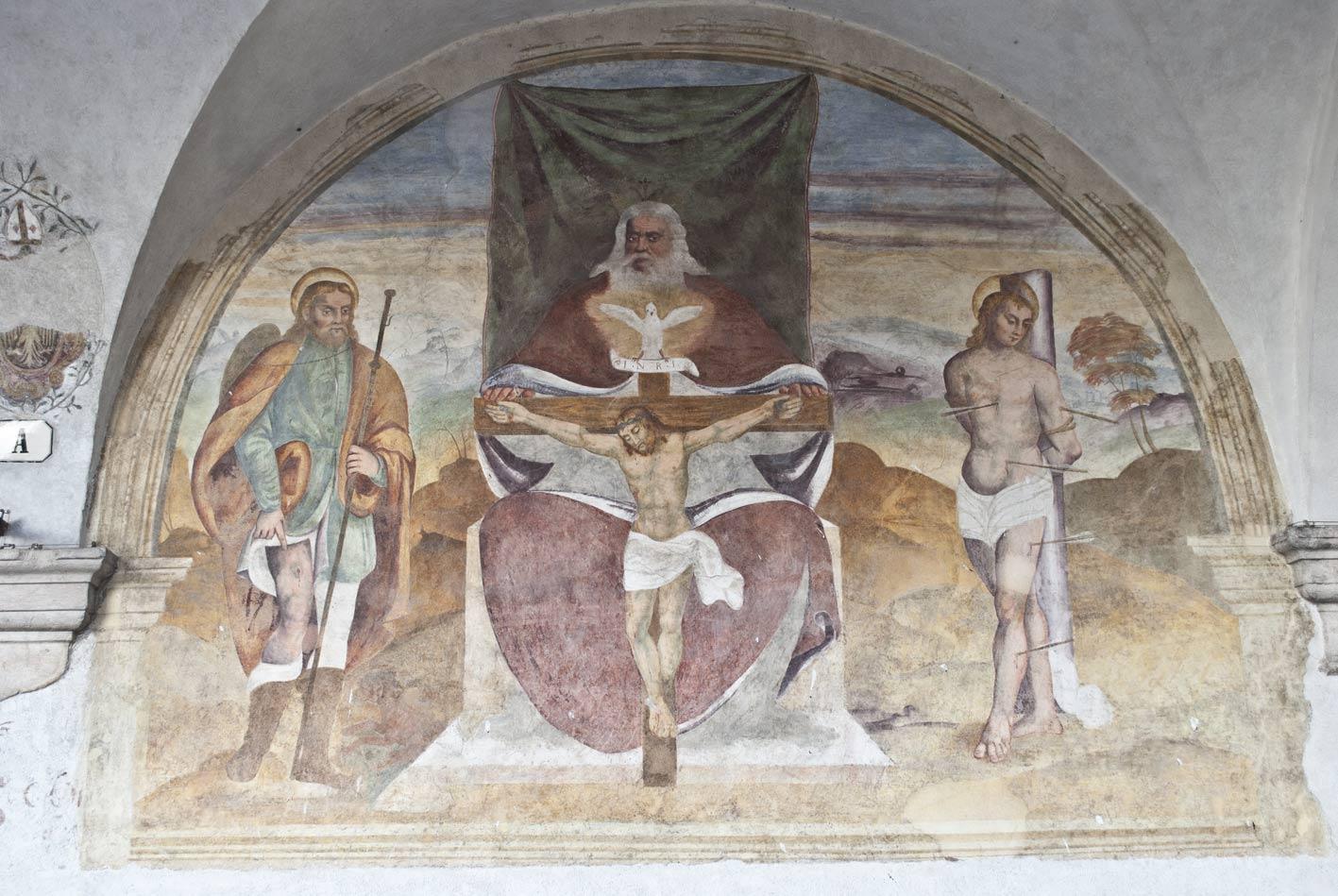 Dipinto chiesa di San Rocco a Belluno
