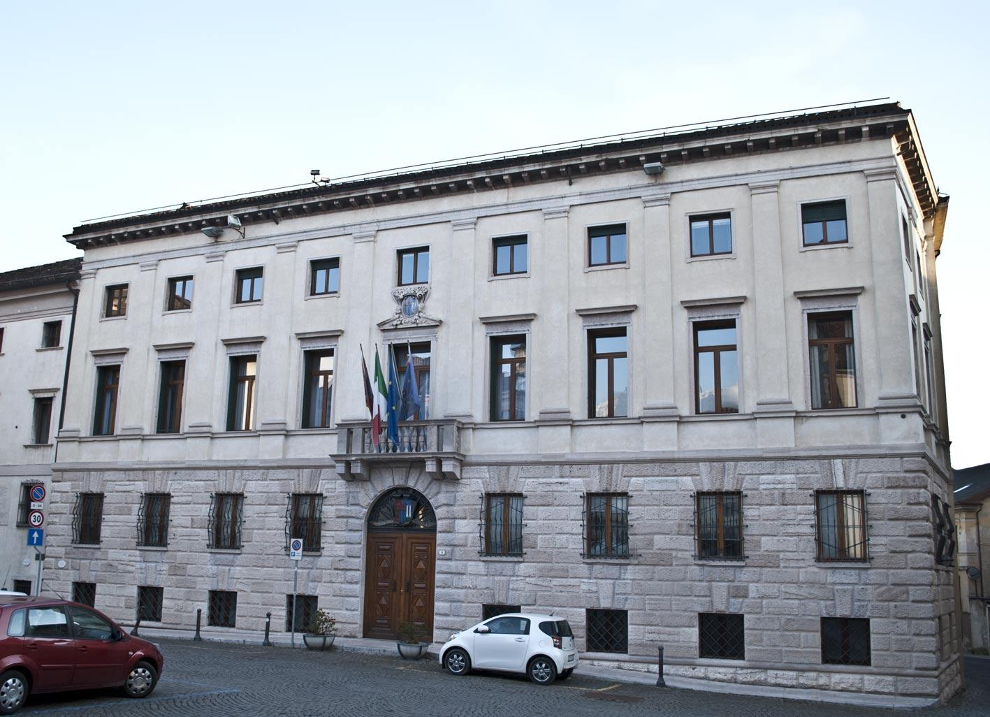 Palazzo della Provincia a Belluno