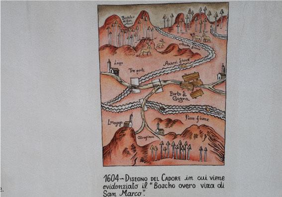 via-Uniera-dei-Zater-Belluno-boscho