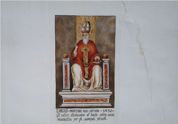 via-Uniera-dei-Zater-Belluno-san-nicolo-patrono-zattieri